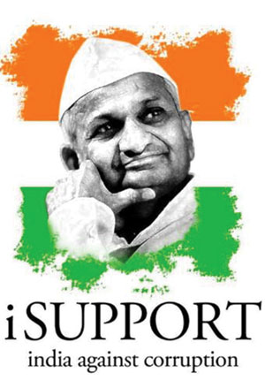 Join Anna Hazare - Anna Hazare Latest News, Video, Photos